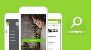 Karriere.at search.jobs App
