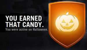 Halloween-Badge in der Nike+ App