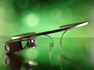 Wearables Google Glass Brille