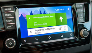 Android Auto Home Navigation